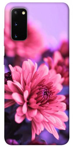 Чехол itsPrint Нежная хризантема для Samsung Galaxy S20