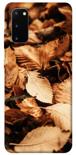 Чехол itsPrint Опавшая листва для Samsung Galaxy S20