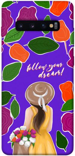 Чехол itsPrint Girl dreamer для Samsung Galaxy S10+