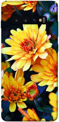 Чехол itsPrint Yellow petals для Samsung Galaxy S10+