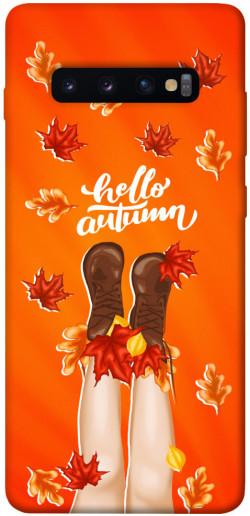 Чехол itsPrint Hello autumn для Samsung Galaxy S10+