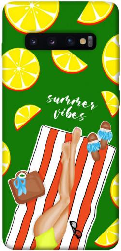 Чехол itsPrint Summer girl для Samsung Galaxy S10+