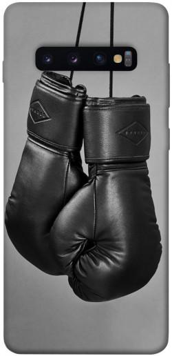 Чехол itsPrint Черные боксерские перчатки для Samsung Galaxy S10+