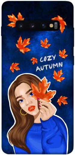 Чехол itsPrint Cozy autumn для Samsung Galaxy S10+