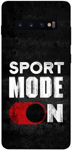Чехол itsPrint Sport mode on для Samsung Galaxy S10+