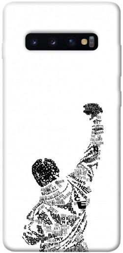 Чехол itsPrint Rocky man для Samsung Galaxy S10+