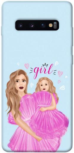 Чехол itsPrint Girls couple look для Samsung Galaxy S10+