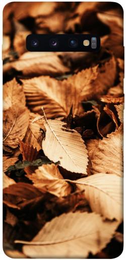 Чехол itsPrint Опавшая листва для Samsung Galaxy S10+