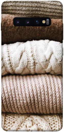 Чехол itsPrint Knitted aesthetics для Samsung Galaxy S10+