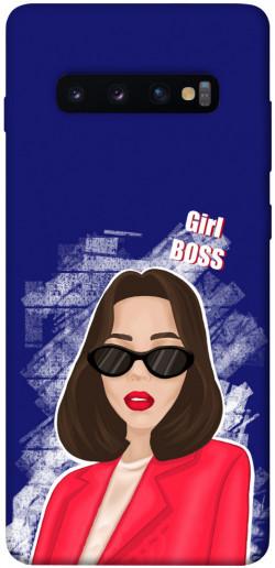 Чехол itsPrint Girl boss для Samsung Galaxy S10+