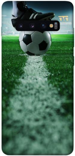 Чехол itsPrint Футболист для Samsung Galaxy S10+