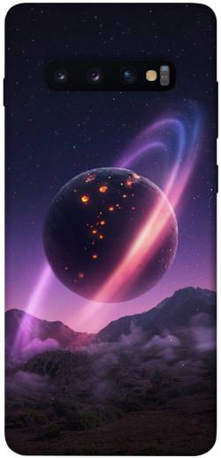 Чехол itsPrint Сатурн для Samsung Galaxy S10+