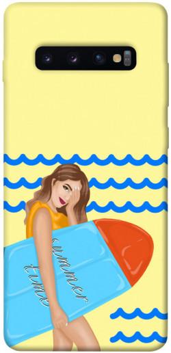 Чехол itsPrint Summer time для Samsung Galaxy S10+