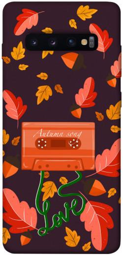 Чехол itsPrint Autumn sound для Samsung Galaxy S10+