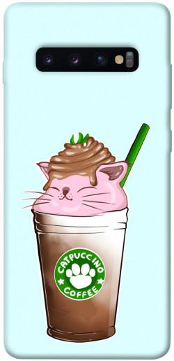 Чехол itsPrint Catpuccino для Samsung Galaxy S10+