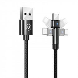 Дата кабель USAMS US-SJ477 U60 Rotatable USB to Type-C (1m)