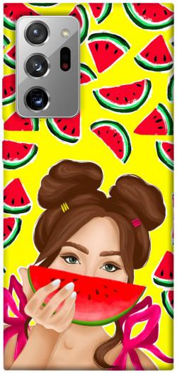Чехол itsPrint Watermelon girl для Samsung Galaxy Note 20 Ultra