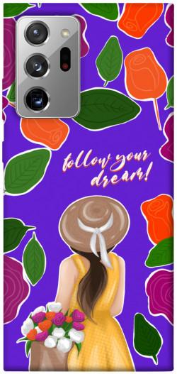 Чехол itsPrint Girl dreamer для Samsung Galaxy Note 20 Ultra