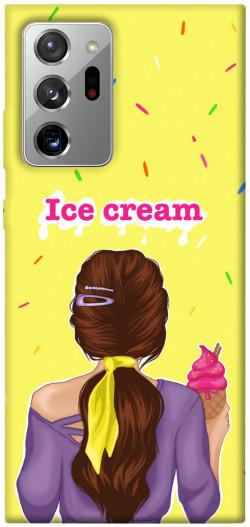 Чехол itsPrint Ice cream girl для Samsung Galaxy Note 20 Ultra
