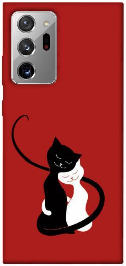 Чехол iPrint Влюбленные коты для Samsung Galaxy Note 20 Ultra