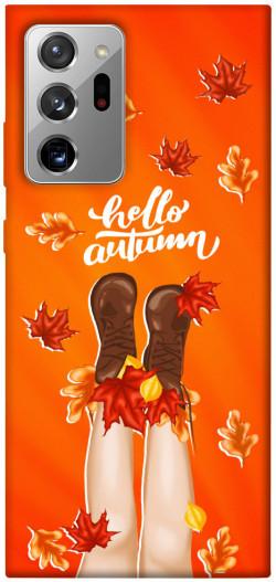 Чехол itsPrint Hello autumn для Samsung Galaxy Note 20 Ultra
