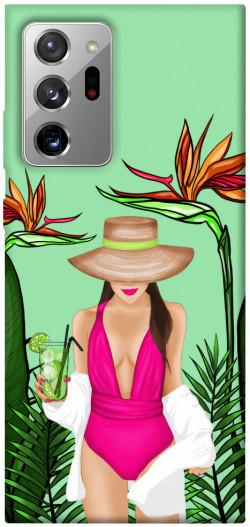 Чехол itsPrint Tropical girl для Samsung Galaxy Note 20 Ultra