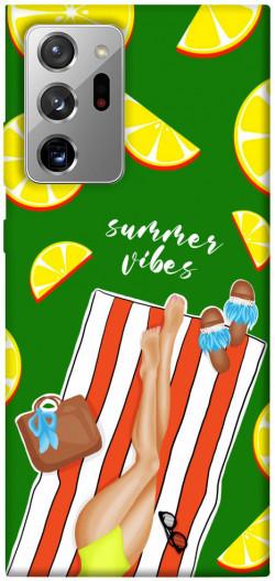Чехол itsPrint Summer girl для Samsung Galaxy Note 20 Ultra
