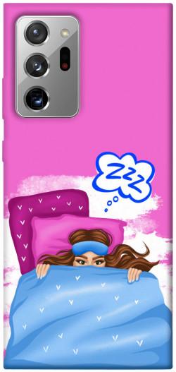 Чехол itsPrint Sleepу girl для Samsung Galaxy Note 20 Ultra