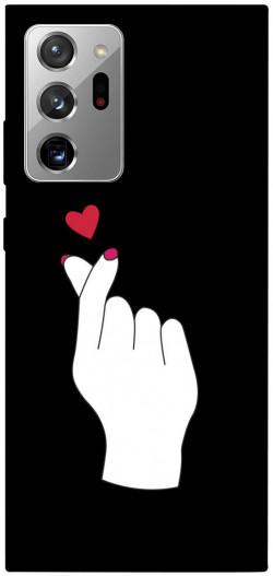 Чехол iPrint Сердце в руке для Samsung Galaxy Note 20 Ultra