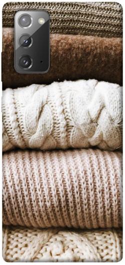 Чехол itsPrint Knitted aesthetics для Samsung Galaxy Note 20