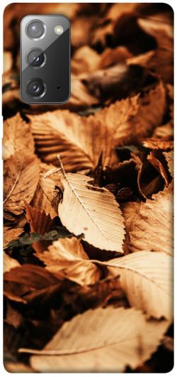 Чехол itsPrint Опавшая листва для Samsung Galaxy Note 20