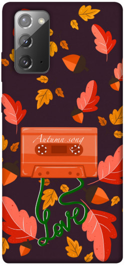 Чехол itsPrint Autumn sound для Samsung Galaxy Note 20