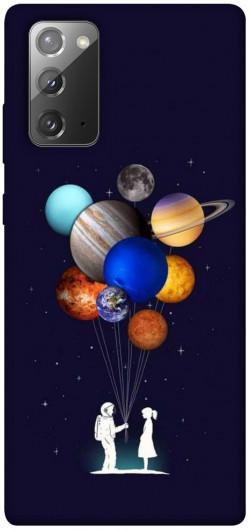 Чехол iPrint Галактика для Samsung Galaxy Note 20
