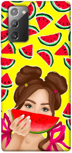 Чехол itsPrint Watermelon girl для Samsung Galaxy Note 20