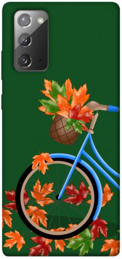 Чехол itsPrint Осенняя прогулка для Samsung Galaxy Note 20