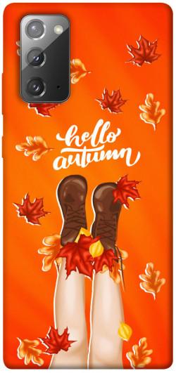 Чехол itsPrint Hello autumn для Samsung Galaxy Note 20