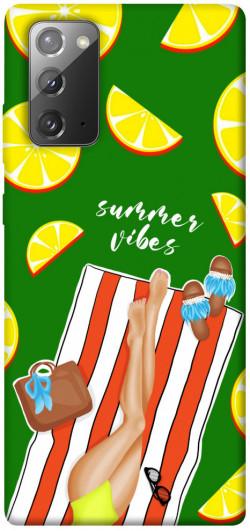 Чехол itsPrint Summer girl для Samsung Galaxy Note 20