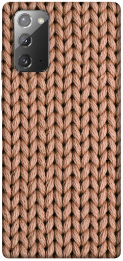 Чехол itsPrint Knitted texture для Samsung Galaxy Note 20