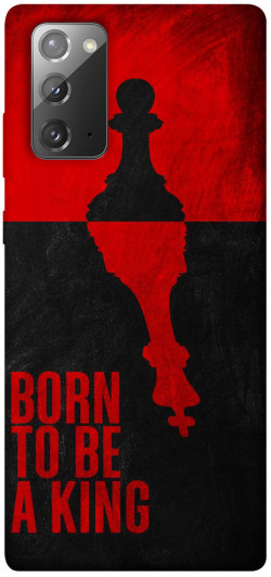 Чехол itsPrint Born to be a king для Samsung Galaxy Note 20