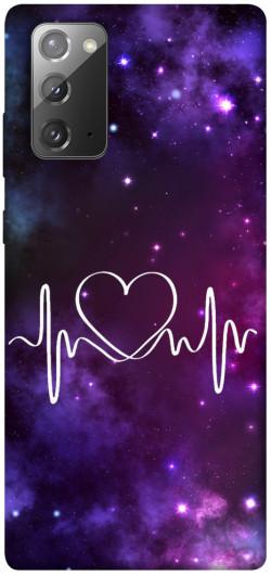 Чехол iPrint Кардиограмма для Samsung Galaxy Note 20