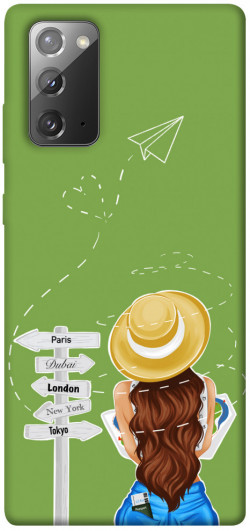 Чехол itsPrint Travel girl для Samsung Galaxy Note 20
