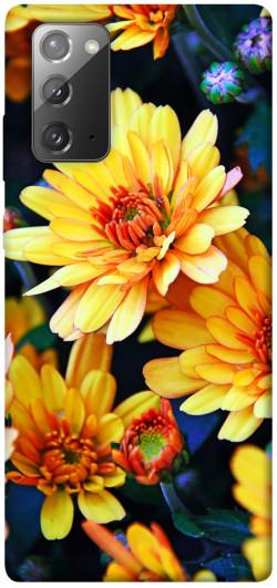 Чехол itsPrint Yellow petals для Samsung Galaxy Note 20
