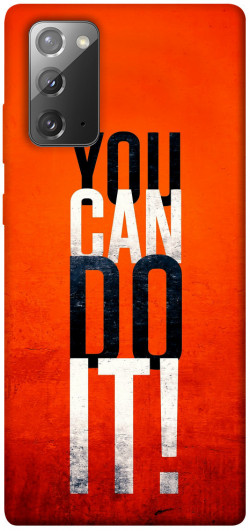 Чехол itsPrint You can do it для Samsung Galaxy Note 20