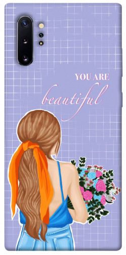 Чехол itsPrint You are beautiful для Samsung Galaxy Note 10 Plus