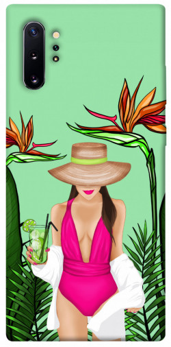 Чехол itsPrint Tropical girl для Samsung Galaxy Note 10 Plus