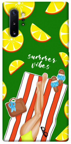 Чехол itsPrint Summer girl для Samsung Galaxy Note 10 Plus