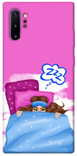Чехол itsPrint Sleepу girl для Samsung Galaxy Note 10 Plus