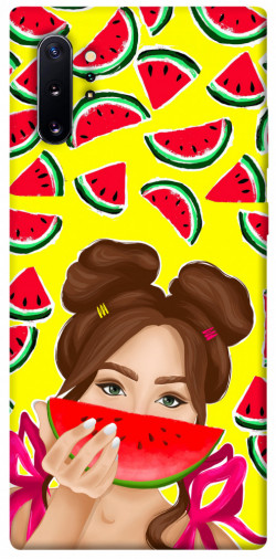 Чехол itsPrint Watermelon girl для Samsung Galaxy Note 10 Plus
