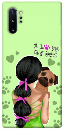 Чехол itsPrint Love my dog для Samsung Galaxy Note 10 Plus