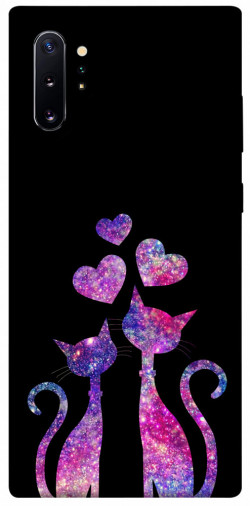 Чехол iPrint Комические коты для Samsung Galaxy Note 10 Plus